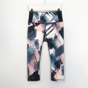 Lucy Printed Running Crop Small